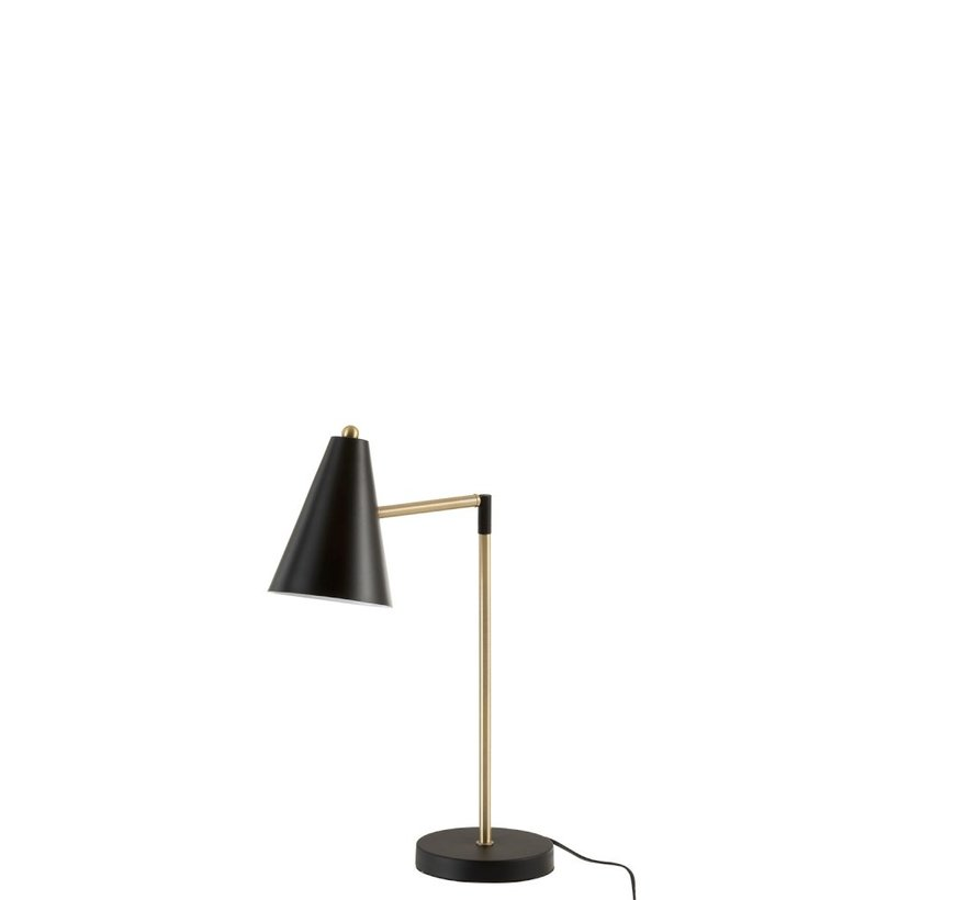 Table lamp Metal Touch Gold - Black