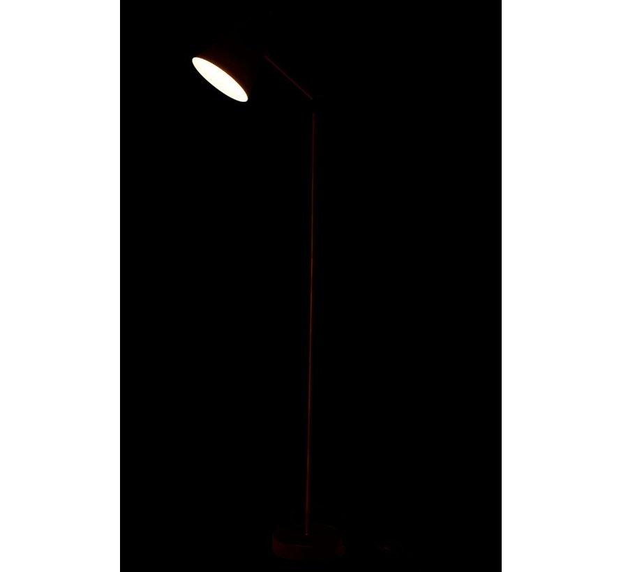 Staande Lamp Metaal Hoog Goud - Zwart