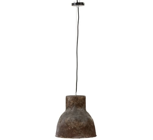 J-Line Hanging lamp Round Pottery Brown - Large