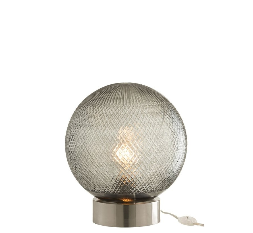 Table lamp Glass Ball Transparent - Silver