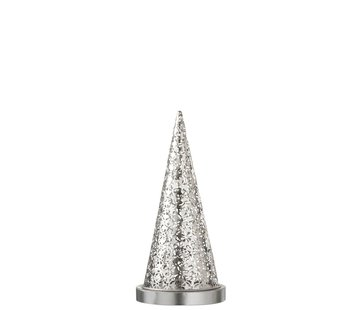 J-Line Table lamp cone Metal Led silver - Small