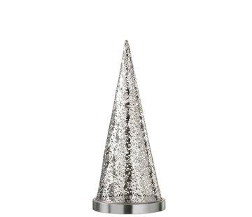 J-Line Table lamp cone Metal Led silver - Medium