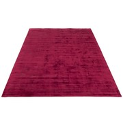 J -Line Carpet Rectangle Viscoze Solid - Fuchsia