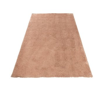 J -Line Carpet Rectangle Polyester Extra Soft - Pink