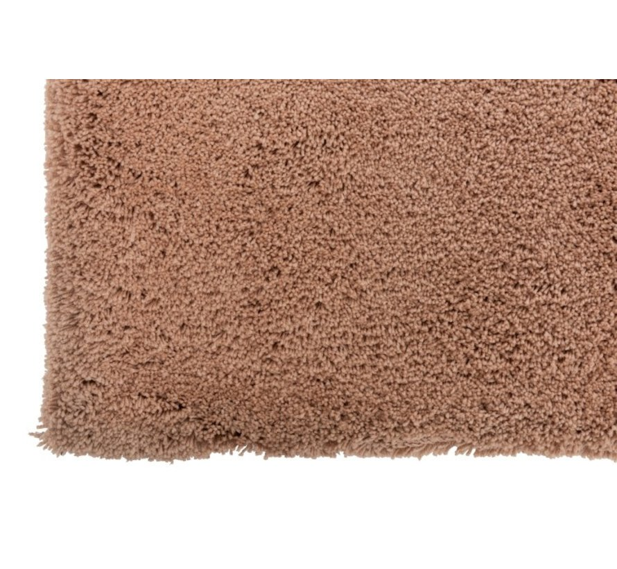 Carpet Rectangle Polyester Extra Soft - Pink