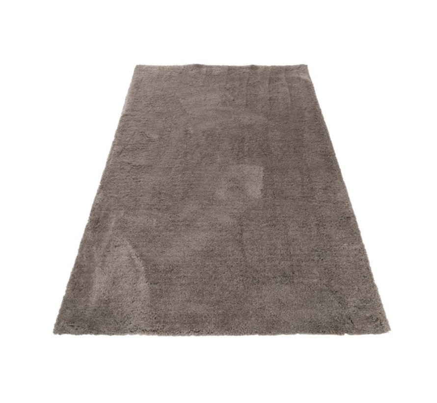 Tapijt Rechthoek Polyester Extra Zacht - Grijs