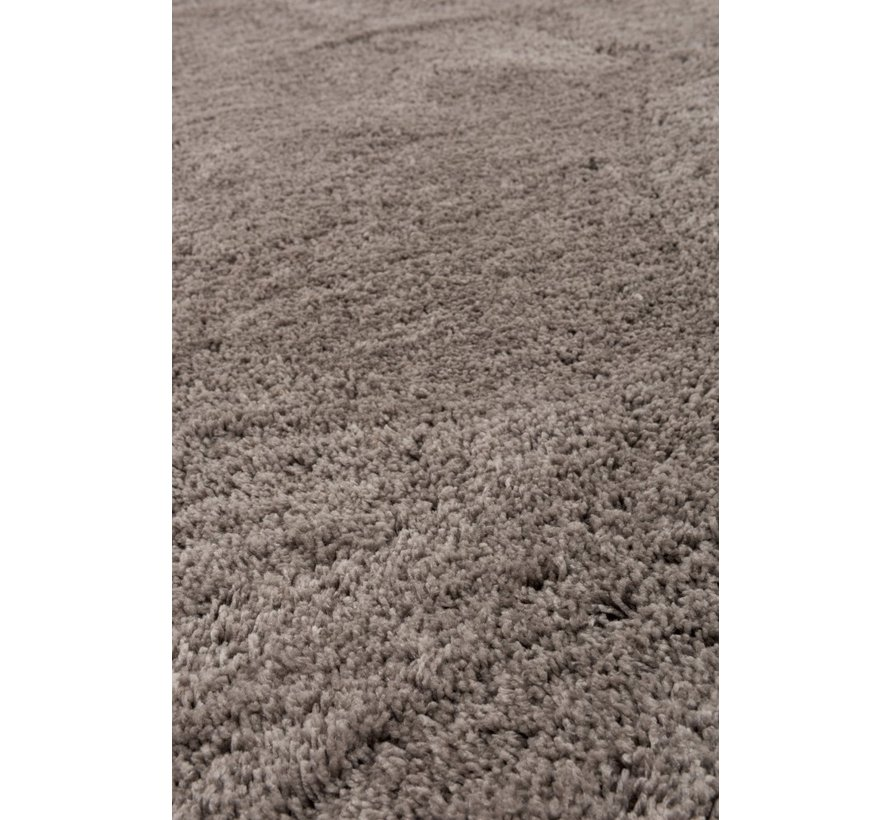 Carpet Rectangle Polyester Extra Soft - Gray