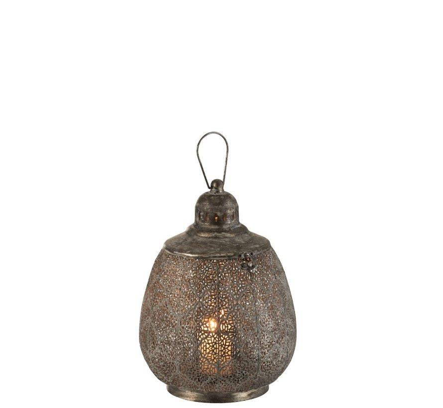 Lantern Ball Oriental Metal Black - Large