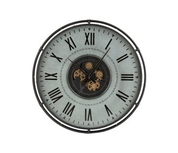 J-Line Wall Clock Round Gold - Large