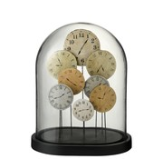 J -Line Decoration Stolp Clocks Glass Transparent Light - Large