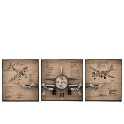 Stylish clocks of Belgian design