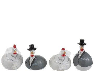 J -Line Keramische kippen Trouw Small