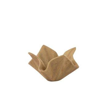 J -Line Bloempot Open Poly Magnesium Natuurlijk - Small