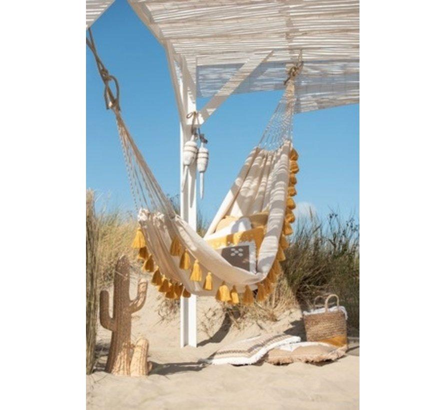 Decoration Buoys Rural Wood Rope - White Wash