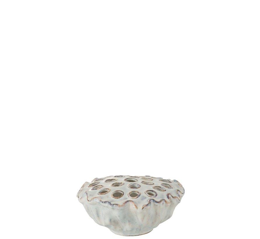 Decorative Anemone Ceramic Soft - Blue
