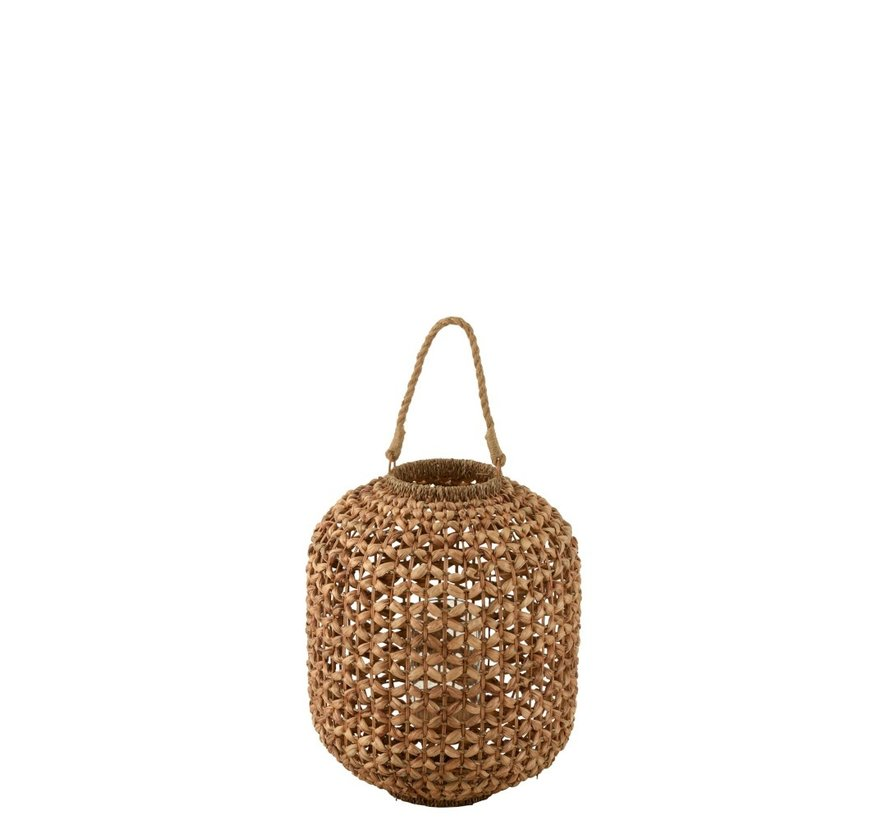 Lantaarn Bamboo Cilinder Natuurlijk Bruin - Medium