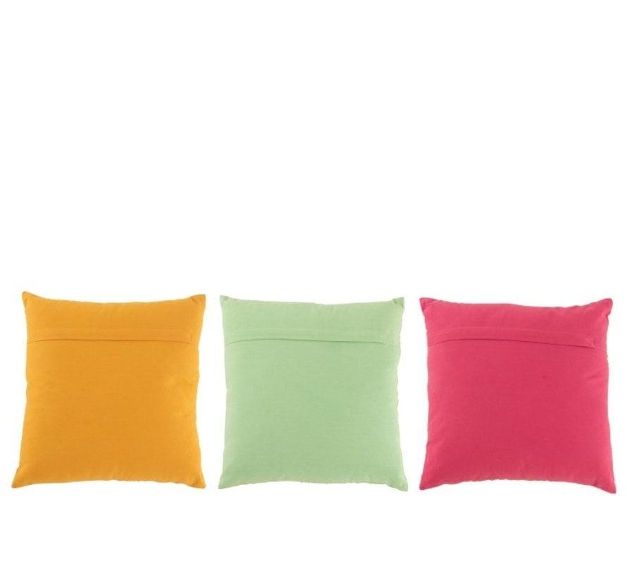 Cushion Square cotton Oriental Patterns Mix - Colors