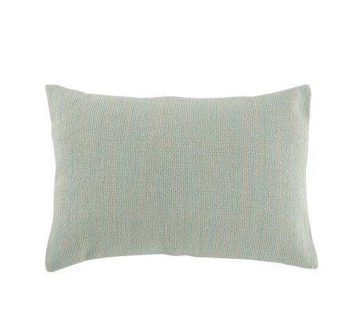 J -Line Cushion Rectangle Cotton Plain Light - Mint