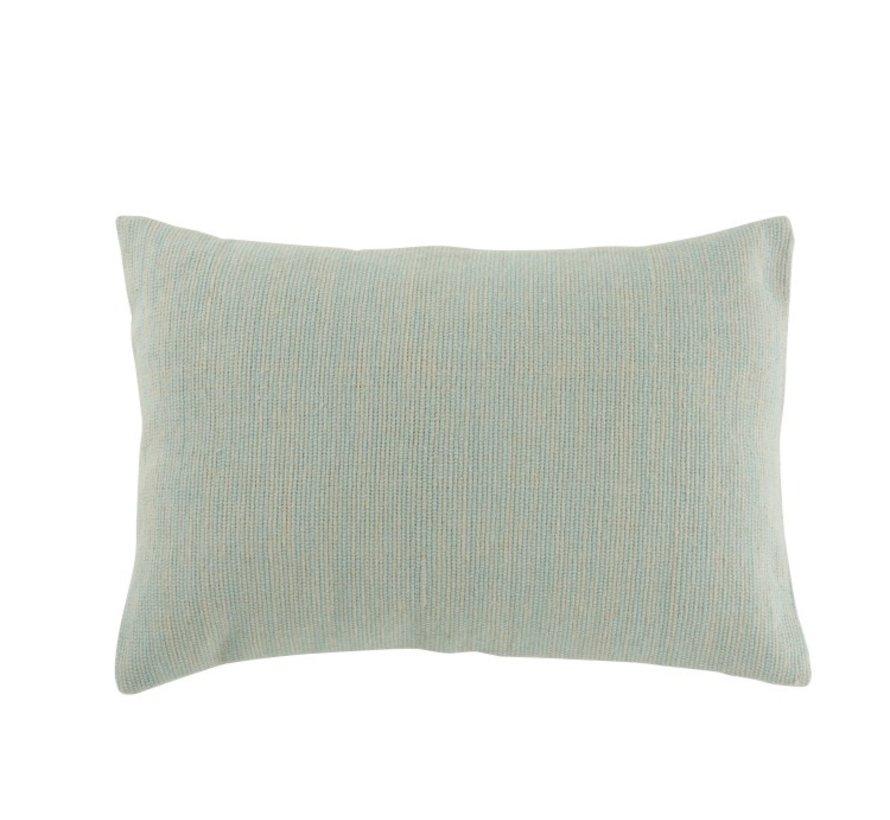 Cushion Rectangle Cotton Plain Light - Mint