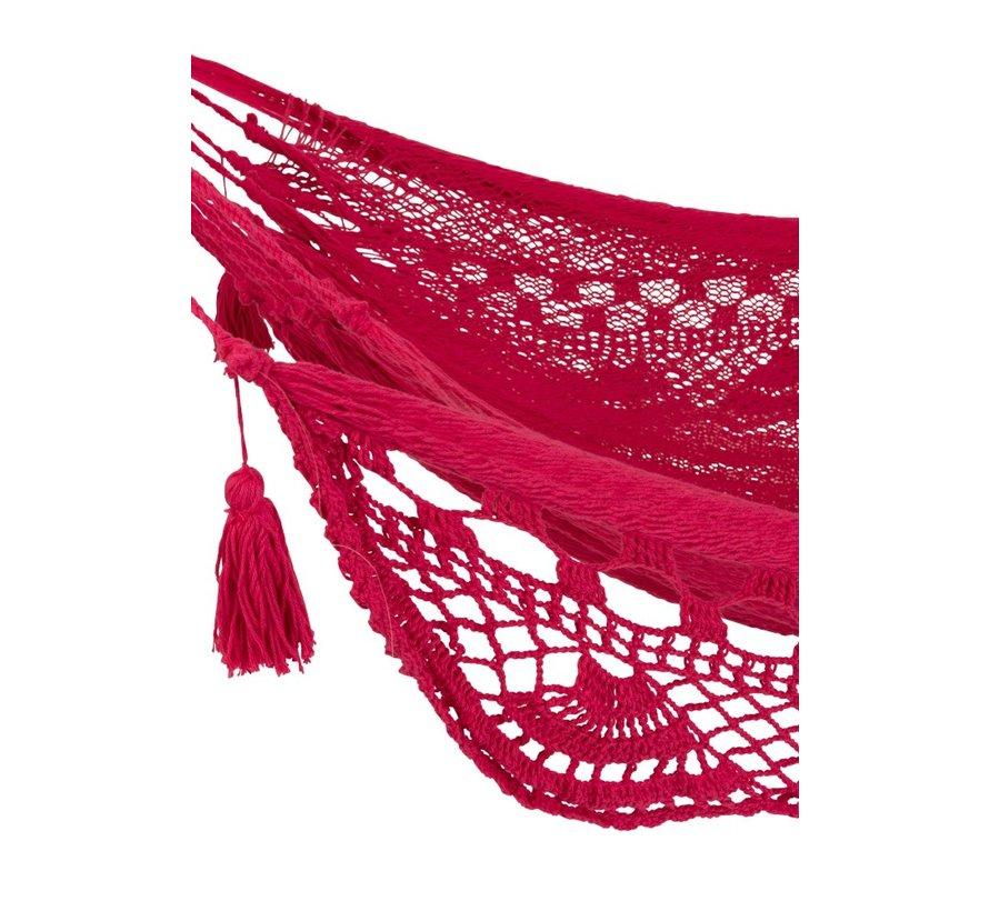 Hangmat gehaakt Katoen Handwerk - Roze