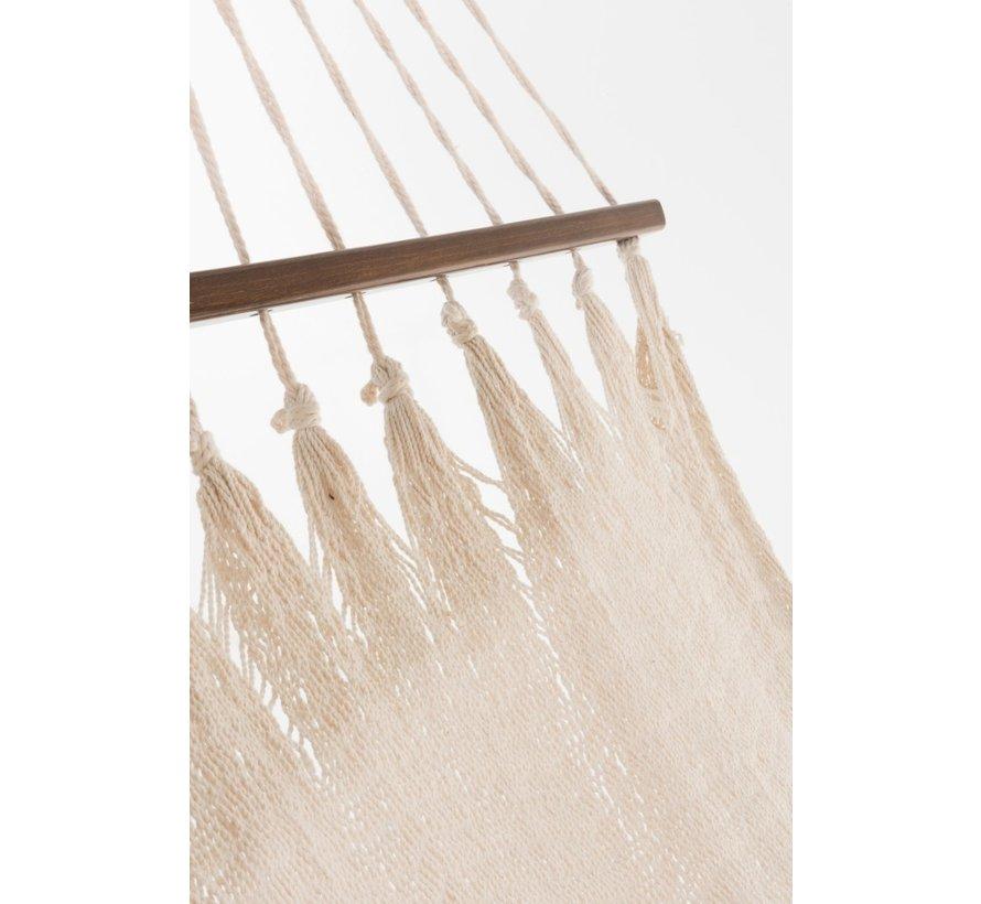 Hammock crocheted Cotton Handicraft - Ecru