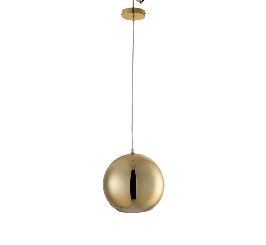 Hanglamp Modern Glas Bol Metaal Goud - Medium