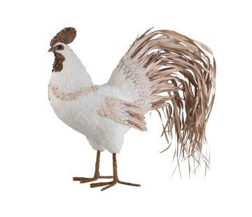 J -Line Decoration Chicken Cotton Leaves - Large