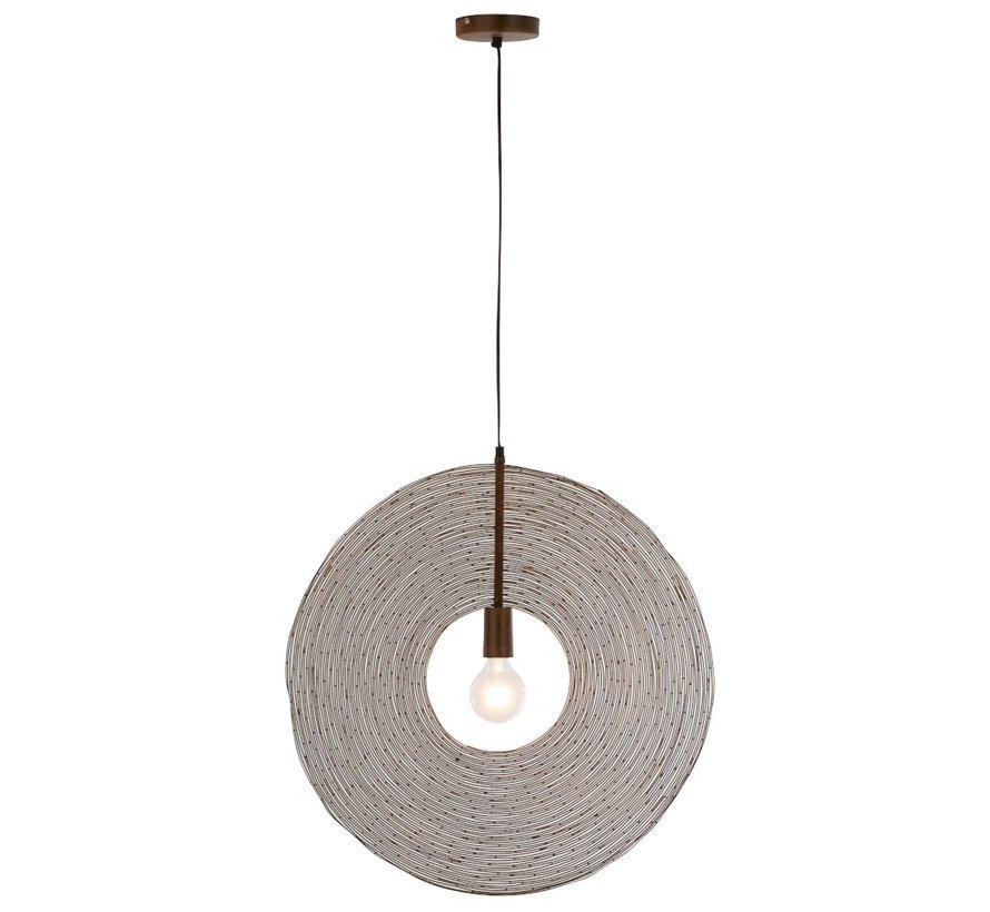 Hanglamp Modern Metalen Cirkel Roest - Large