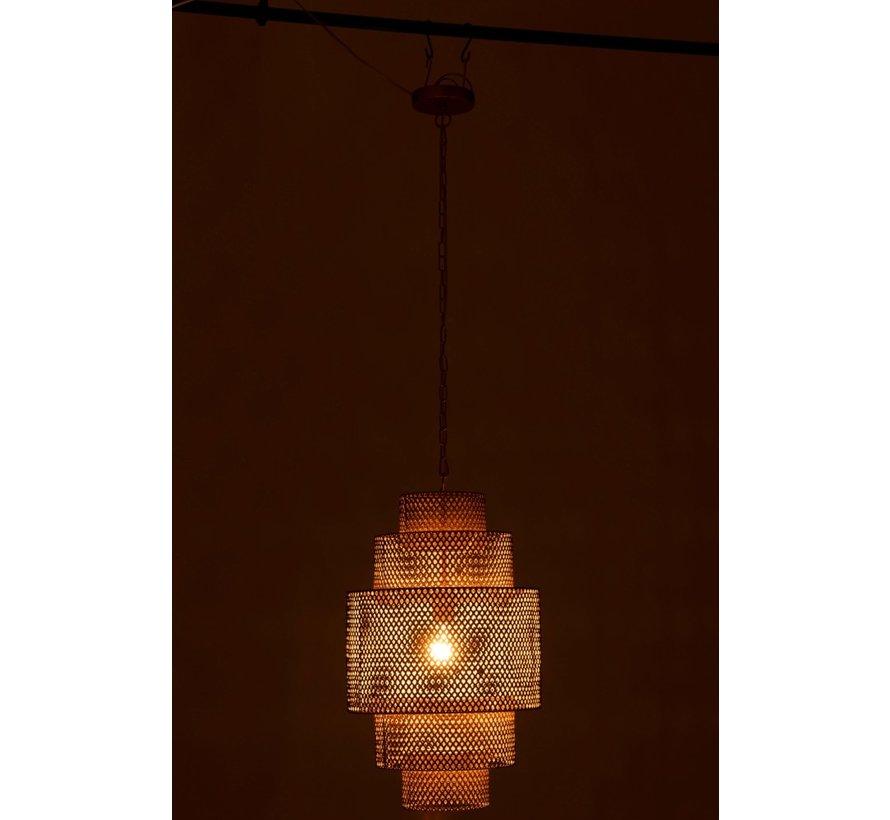 Hanglamp Metaal Vijf Niveau's Goud - Small