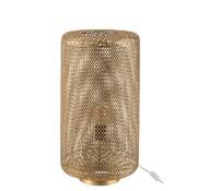 J -Line Table lamp Cylinder High Metal Holes - Gold