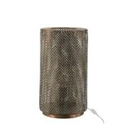 J -Line Tafellamp Cilinder Hoog Metaal Haakjes - Zwart