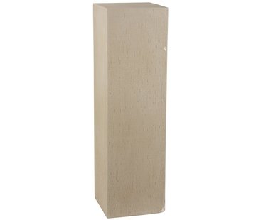 J -Line Decoration Column High Ceramic Earthenware Beige - Large
