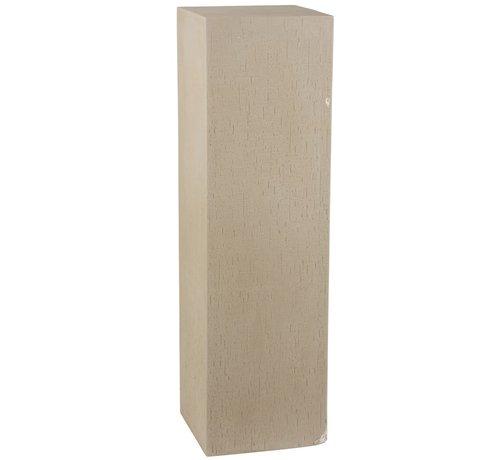 J -Line Decoration Column High Ceramic Earthenware Beige - Large