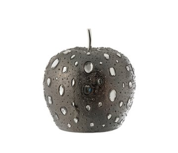 J -Line Decoration Apple Diamond Polyester Gray - Large