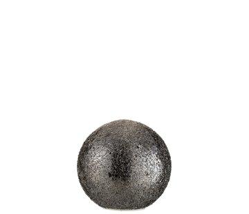J -Line Table Lamp Spherical Broken Glass LED Lighting - Black