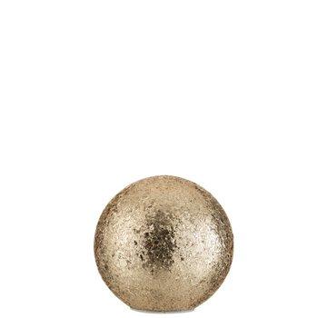 J -Line Table lamp Sphere broken glass LED Lighting - Gold