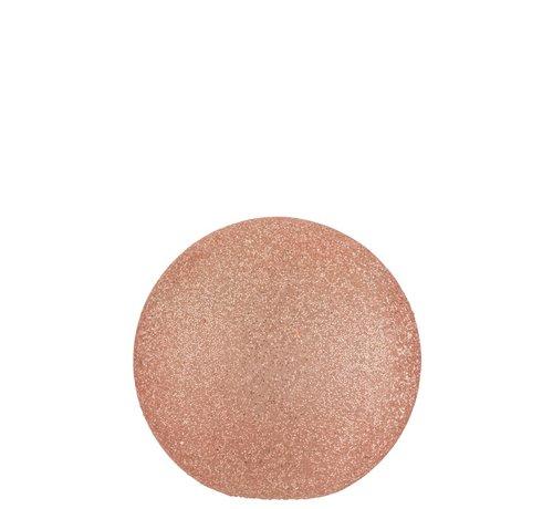 J-Line Table Lamp Spherical Pearls Glass Led - Light Pink