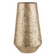 J-Line Tealight Holder Conical Broken Glass Gold - Extra Large
