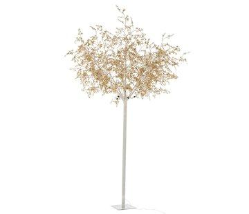 J-Line Staande Lamp Boom Bladeren Glitters Led Goud - Extra Large