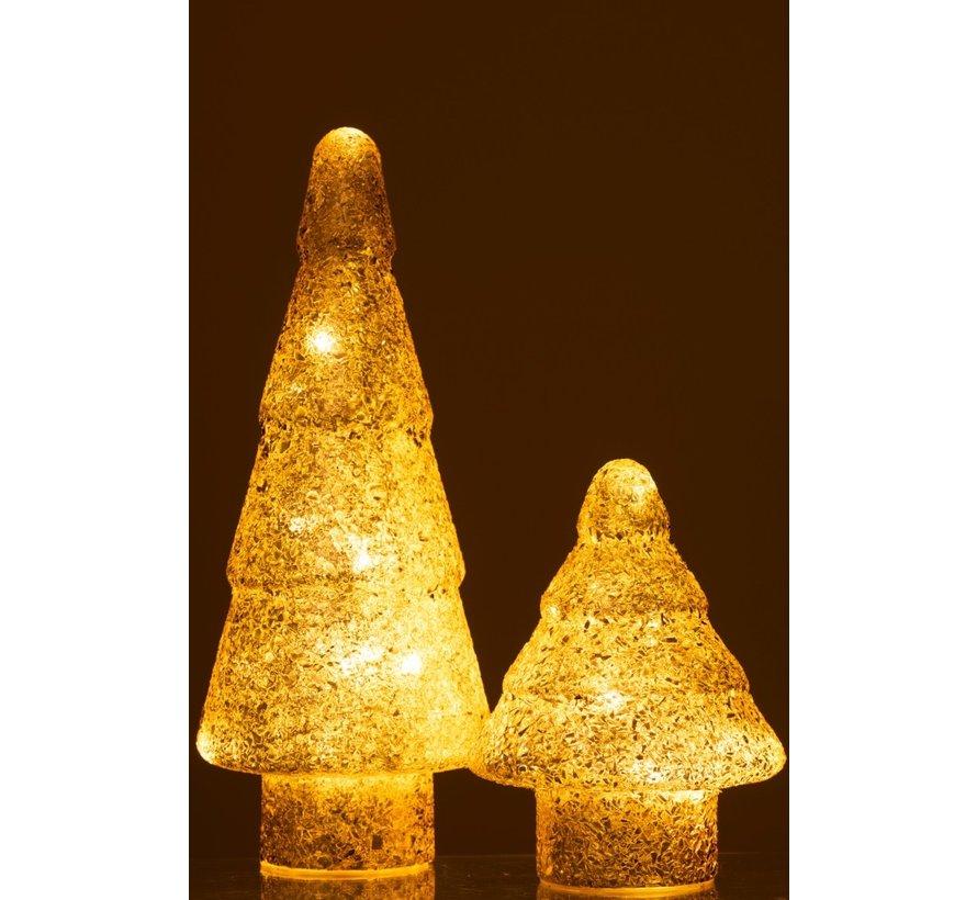 Decoration Tree Led Lighting Pearls Glass Gold - Large