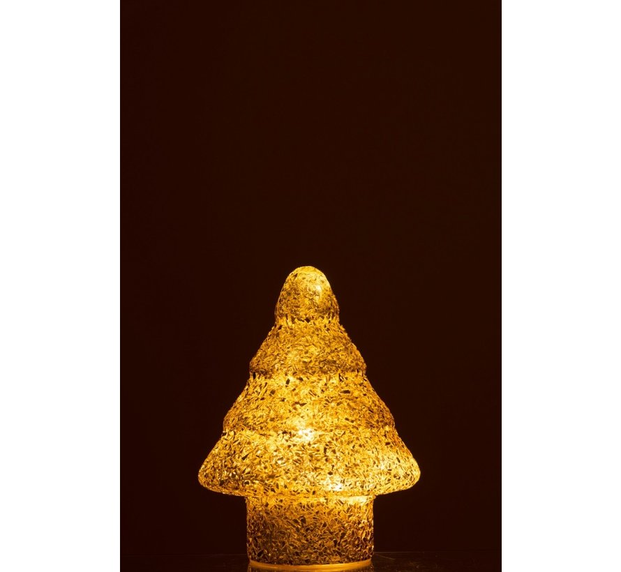 Decoration Tree Led Lighting Pearls Glass Gold - Small