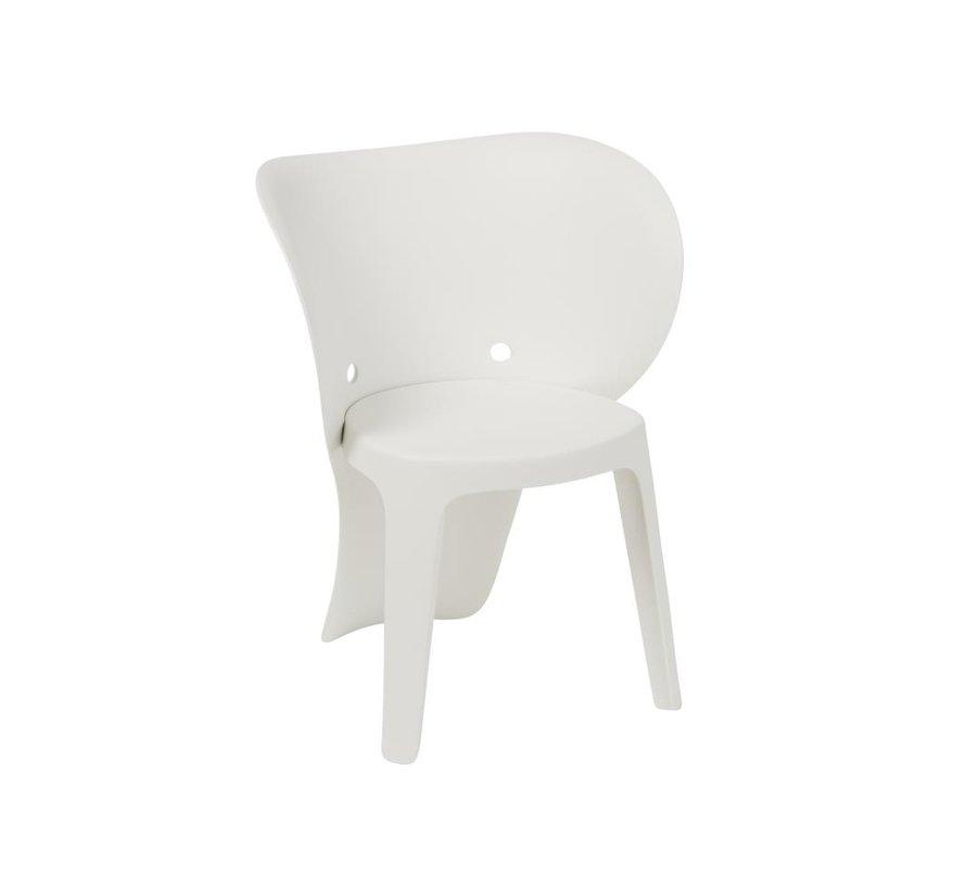 Highchair Sturdy Elephant Plastic - White