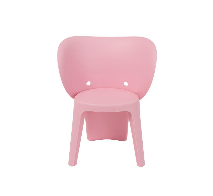 Highchair Sturdy Elephant Plastic - Light Pink