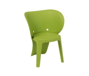 J -Line Highchair Sturdy Elephant Plastic - Green