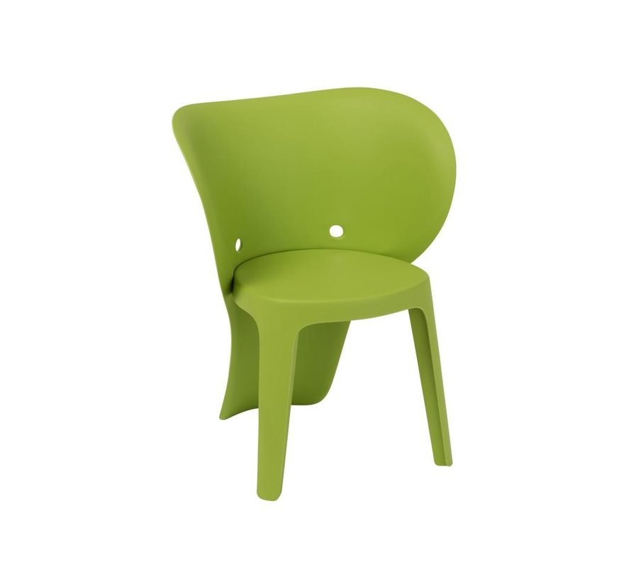 Kinderstoel Stevig Olifant Kunststof - Groen