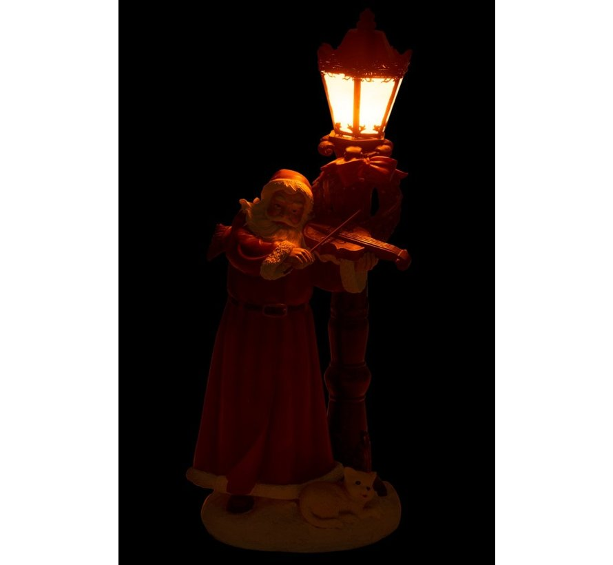 Decoration Santa Claus Violin Lantern Led - Mix Colors