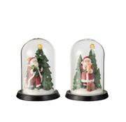 J-Line Decorative Christmas cloches Santa Claus Led - Mix Colors
