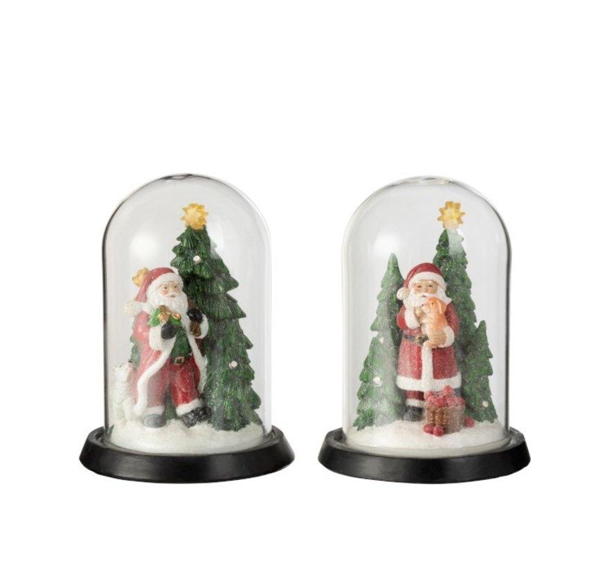 Decorative Christmas cloches Santa Claus Led - Mix Colors