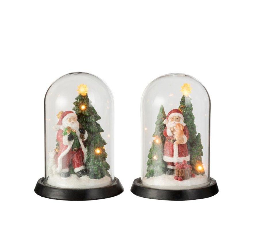 Decoratieve Kerststolpen Kerstmannen Led - Mix Kleuren