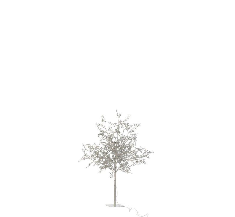 Table lamp Tree Leaves Glitters Led Silver - Medium